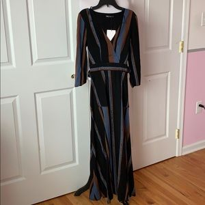 Zara tall maxi dress XS